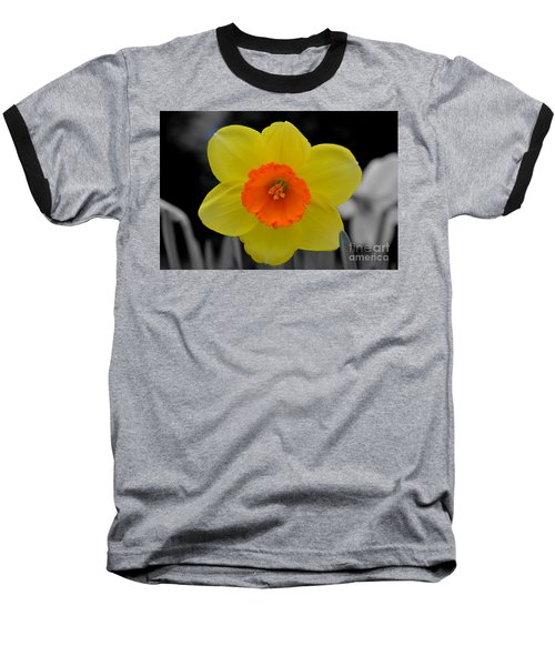 Daffodil Delight  Baseball T-Shirt