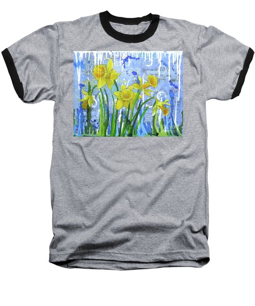 Daffodil Ding Dongs Baseball T-Shirt