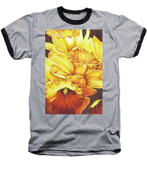 Daffodil Drama Baseball T-Shirt