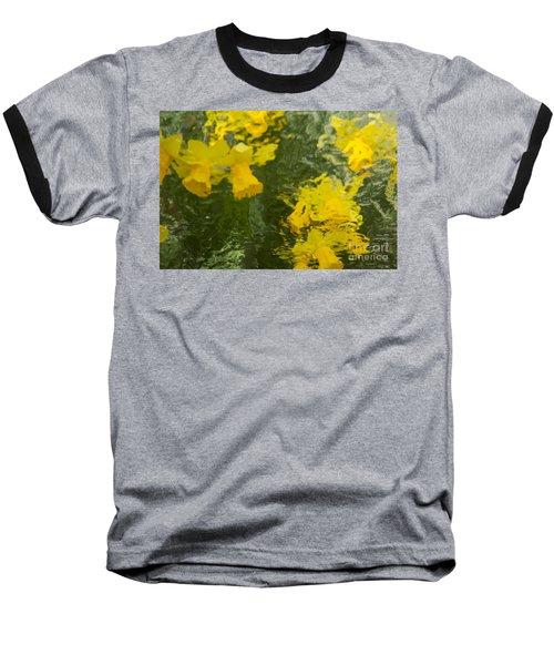 Daffodil Impressions Baseball T-Shirt