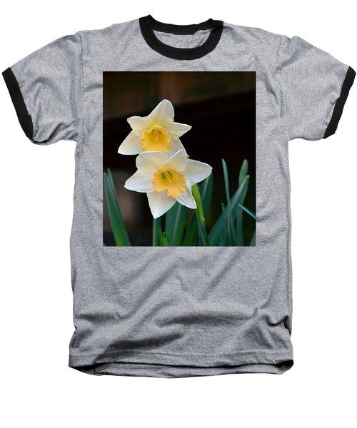 Daffodil Baseball T-Shirt by Kathy Eickenberg