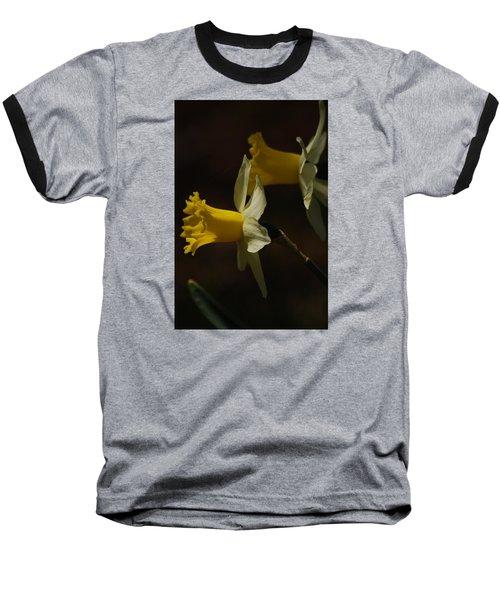 Baseball T-Shirt featuring the photograph Daffodil by Ramona Whiteaker