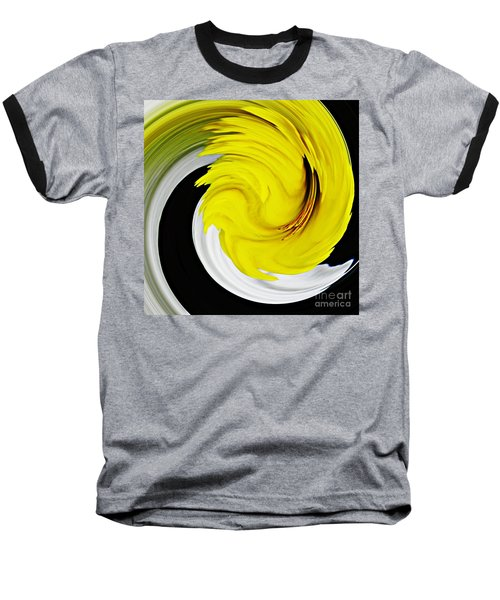 Daffodil Twist Baseball T-Shirt