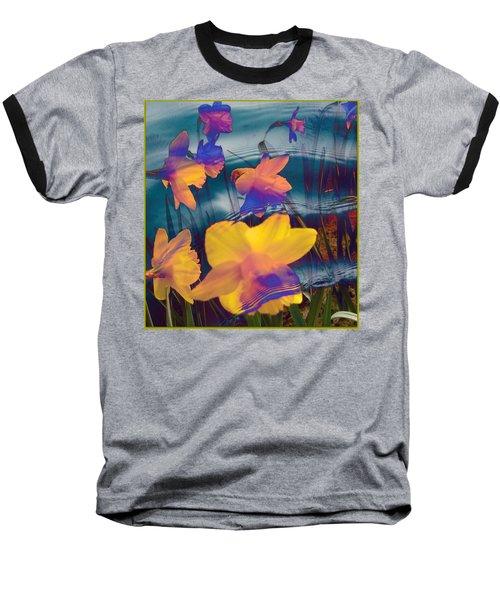 Daffodils #1 Baseball T-Shirt