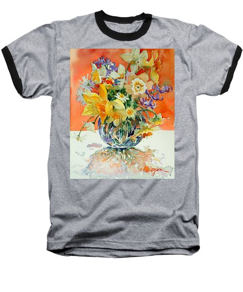 Daffs And Daisies Baseball T-Shirt