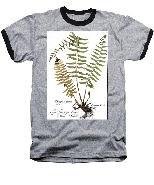 Dagger Fern Baseball T-Shirt
