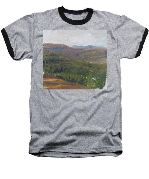 Dagrar Over Salenfjallen - Shifting Daylight Over Distant Horizon 1 Of 10_0034 50x50 Cm Baseball T-Shirt