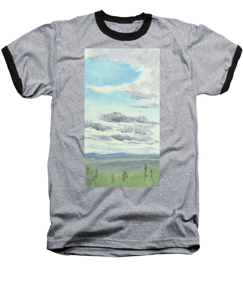 Dagrar Over Salenfjallen- Shifting Daylight Over Distant Horizon 10 Of 10_0029 Baseball T-Shirt