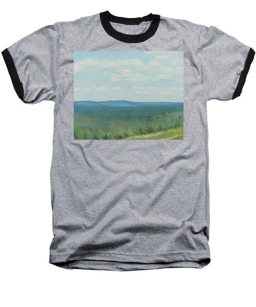 Dagrar Over Salenfjallen- Shifting Daylight Over Distant Horizon 3 Of 10_0029 50x40 Cm Baseball T-Shirt