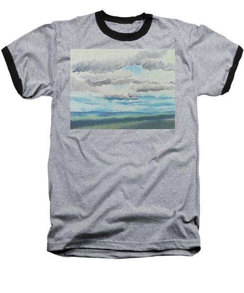 Dagrar Over Salenfjallen- Shifting Daylight Over Distant Horizon 8 Of 10_0029 Baseball T-Shirt