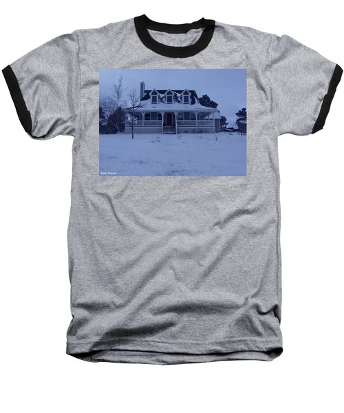 Baseball T-Shirt featuring the photograph Dahl House by Gene Gregory