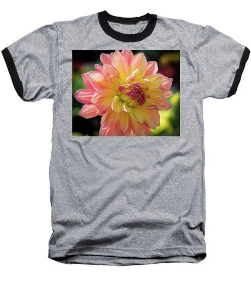 Dahlia In The Sunshine Baseball T-Shirt