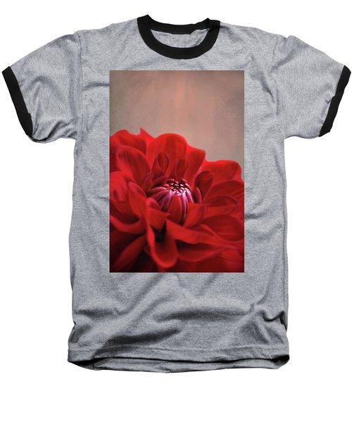 Baseball T-Shirt featuring the photograph Dahlia Dalliance  by Marion Cullen