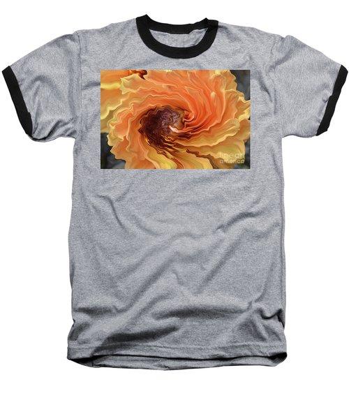 Dahlia Baseball T-Shirt by Debby Pueschel