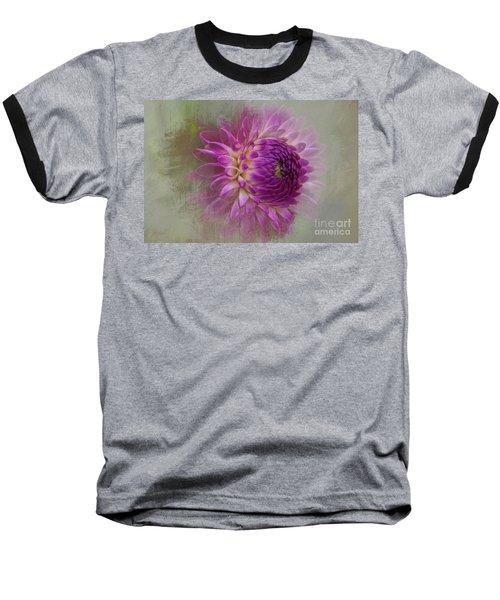 Dahlia Dream Baseball T-Shirt
