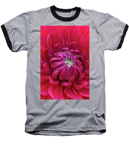 Dahlia Heart Baseball T-Shirt