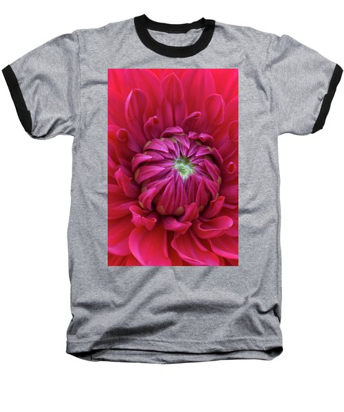 Dahlia Heart Baseball T-Shirt