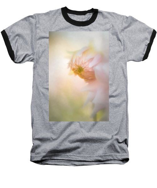 Dahlia In The Soft Morning Mist Baseball T-Shirt