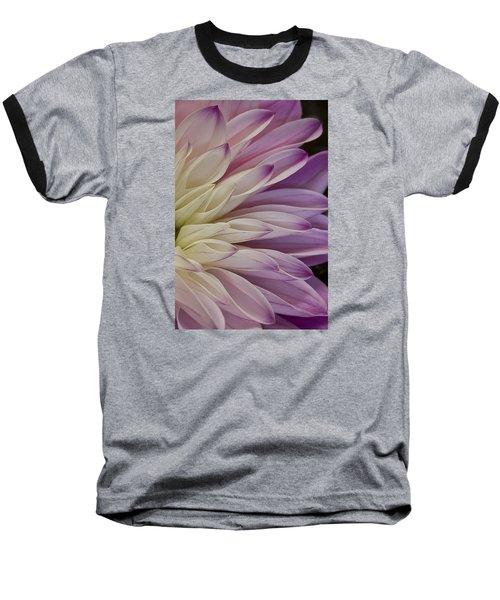 Dahlia Petals 2 Baseball T-Shirt