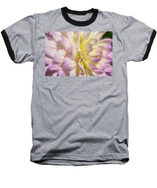Dahlia Study 5 Painterly  Baseball T-Shirt