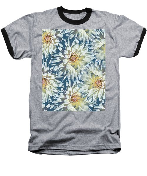 Dahlias 2 Baseball T-Shirt