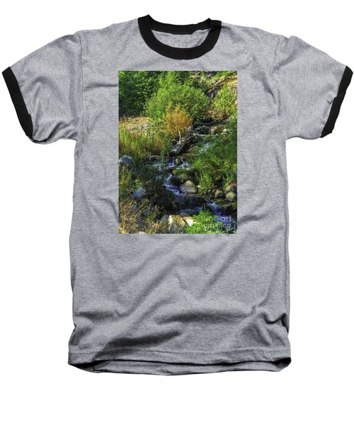 Baseball T-Shirt featuring the photograph Daily Greens-2 by Nancy Marie Ricketts