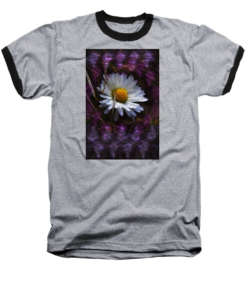 Baseball T-Shirt featuring the photograph Dainty Daisy by Adria Trail