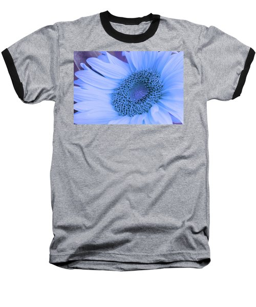 Baseball T-Shirt featuring the photograph Daisy Blue by Marie Leslie