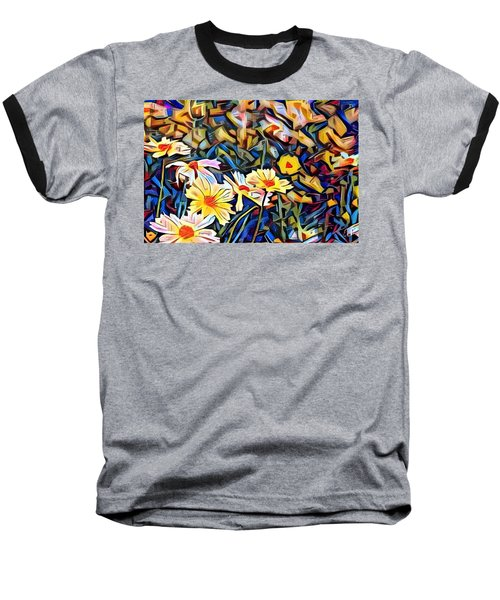 Baseball T-Shirt featuring the photograph Daisy Dream by Geri Glavis