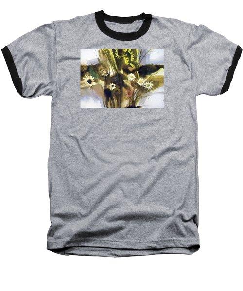 Daisies Baseball T-Shirt