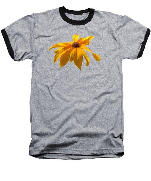 Daisy - Flower - Transparent Baseball T-Shirt by Nikolyn McDonald