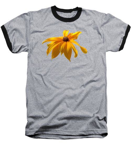 Daisy - Flower - Transparent Baseball T-Shirt