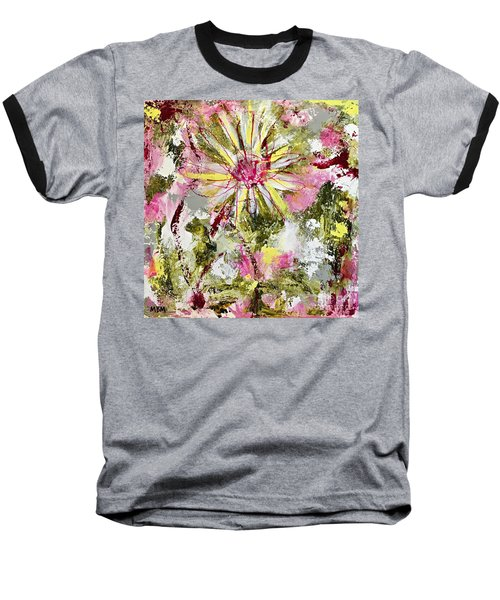 Daisies On Parade No. 1 Baseball T-Shirt