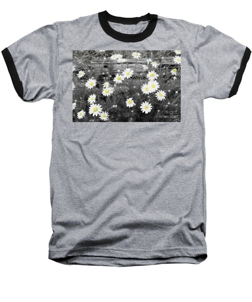 Baseball T-Shirt featuring the photograph Daisy Patch by Benanne Stiens