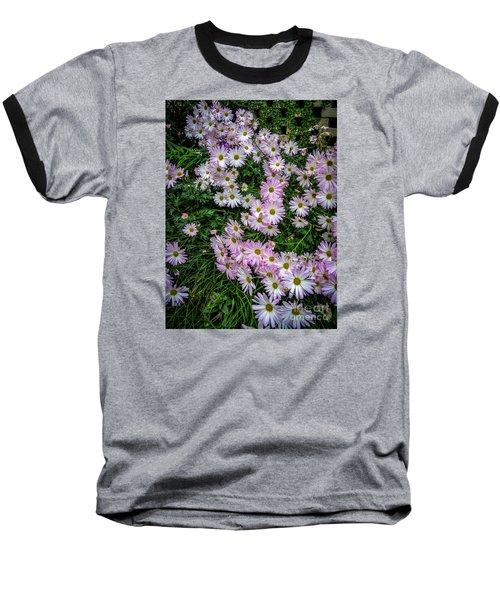Daisy Patch Baseball T-Shirt by David Smith
