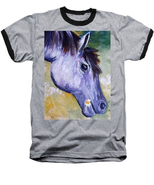 Daisy The Old Mare     52 Baseball T-Shirt