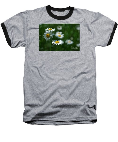 Baseball T-Shirt featuring the photograph Daisy's by Alana Ranney