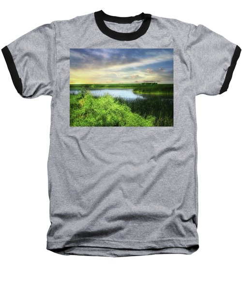 Dakota Wetlands 7 Baseball T-Shirt