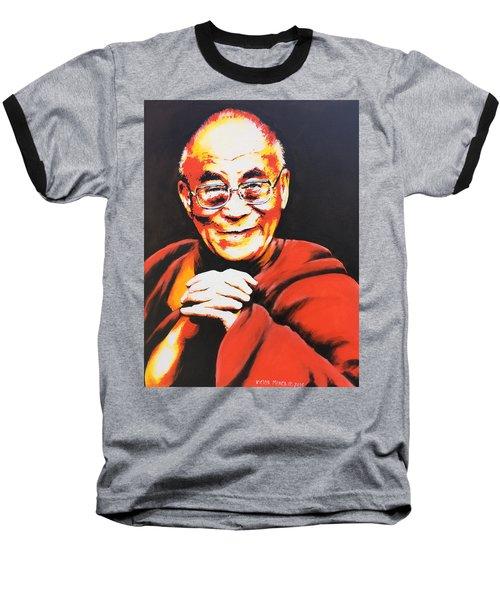 Dalai Lama Baseball T-Shirt