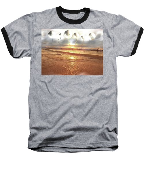 Baseball T-Shirt featuring the photograph Dali, Here In Brazil by Beto Machado