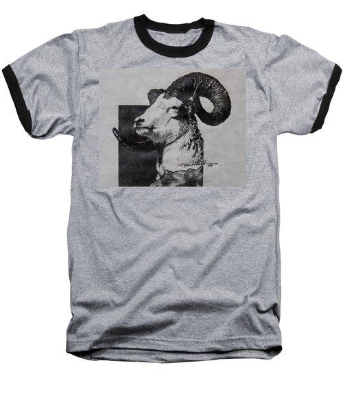 Dall Ram Baseball T-Shirt by Karon Melillo DeVega