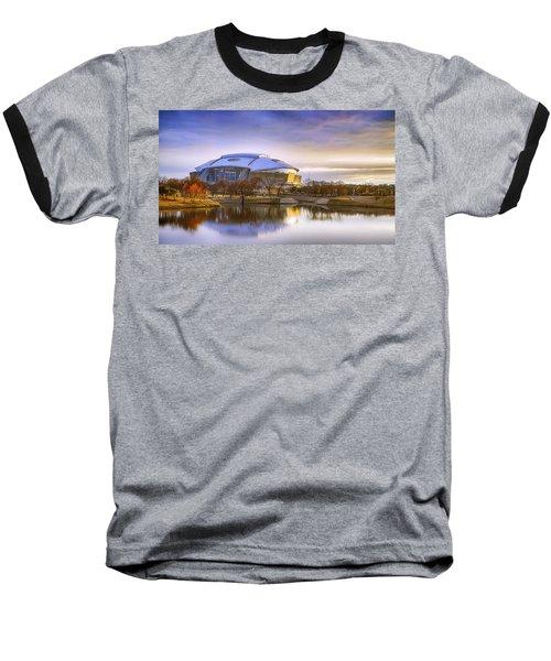 Dallas Cowboys Stadium Arlington Texas Baseball T-Shirt