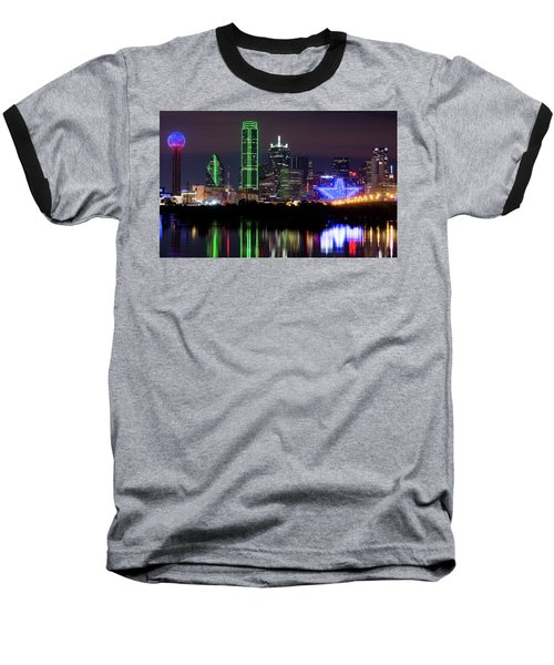 Dallas Cowboys Star Night Baseball T-Shirt