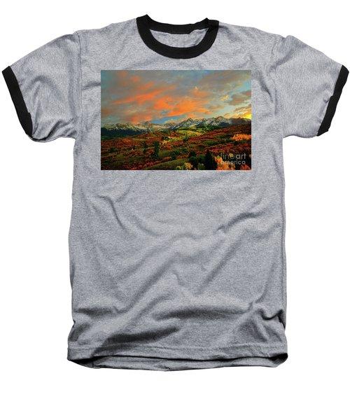 Dallas Divide Sunset - 2 Baseball T-Shirt