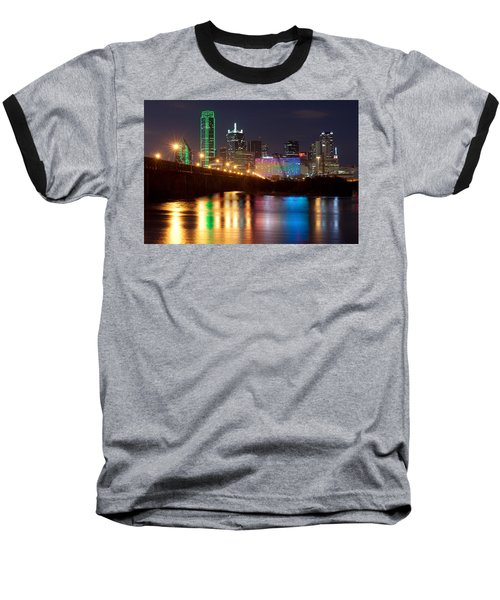 Dallas Reflections Baseball T-Shirt