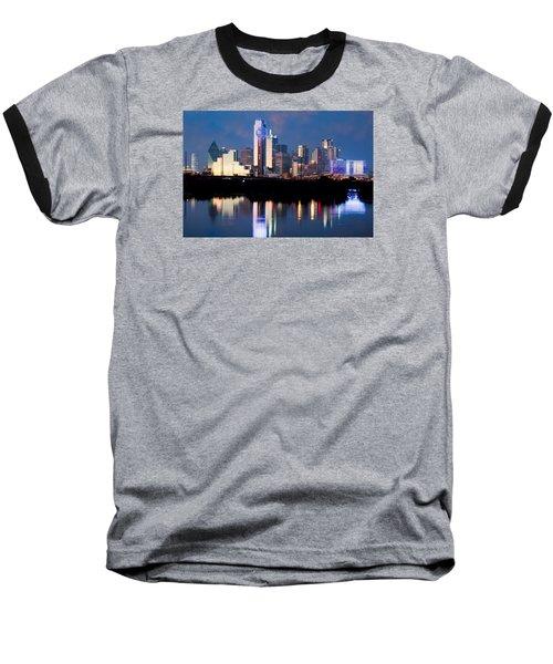 Dallas Skyline May 2015 Baseball T-Shirt