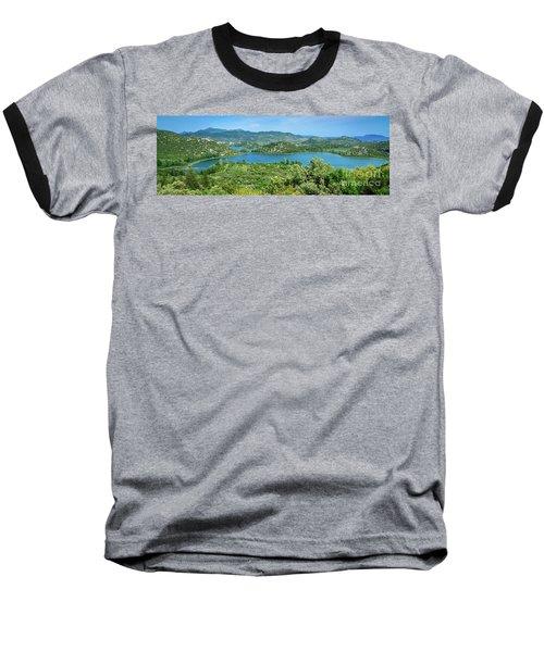 Dalmatian Coast Panorama, Dalmatia, Croatia Baseball T-Shirt