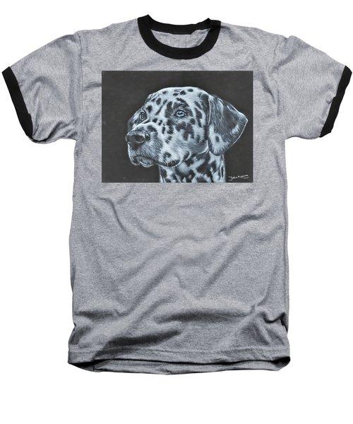 Dalmation Portrait Baseball T-Shirt