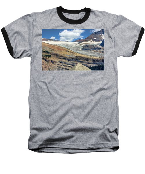Daly Glacier And Yoho National Park Adventure Baseball T-Shirt