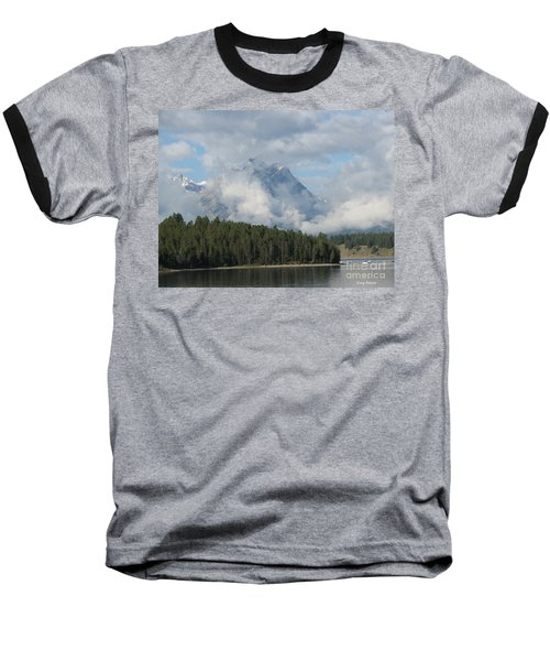 Baseball T-Shirt featuring the photograph Dam Clouds by Greg Patzer